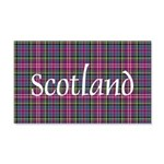 Tartan - Scotland 20x12 Wall Decal