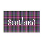 Tartan - Scotland 35x21 Wall Decal