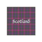 Tartan - Scotland Square Sticker 3