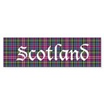 Tartan - Scotland Sticker (Bumper)