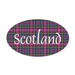 Tartan - Scotland Oval Car Magnet