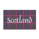 Tartan - Scotland Rectangle Car Magnet