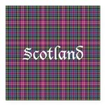 Tartan - Scotland Square Car Magnet 3