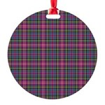 Tartan - Scotland Round Ornament