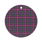 Tartan - Scotland Ornament (Round)