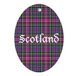 Tartan - Scotland Ornament (Oval)