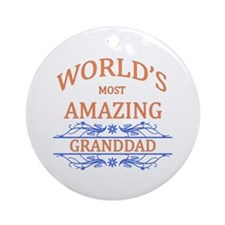 Granddad Round Ornament