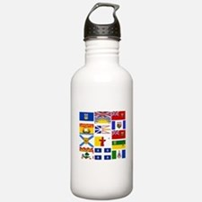 Canadian Provinces Water Bottle