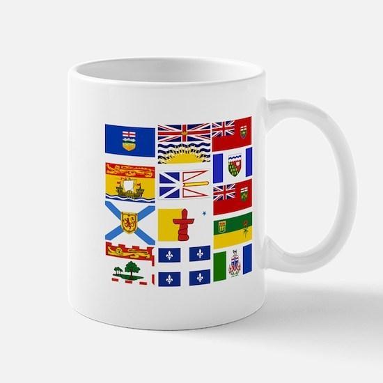Canadian Provinces Mugs