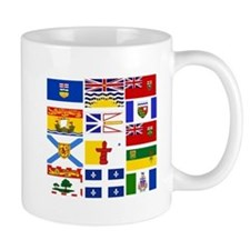 Canadian Provinces Mugs