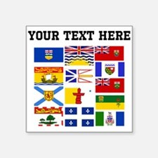 Custom Canadian Provinces Sticker