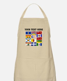 Custom Canadian Provinces Apron