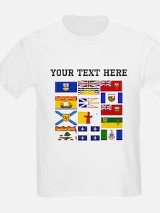 Custom Canadian Provinces T-Shirt