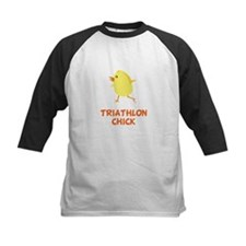 Triathlon Chick Baseball Jersey