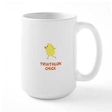 Triathlon Chick Mugs