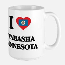 I love Wabasha Minnesota Mugs