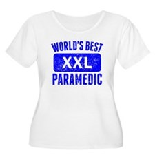 Worlds Best Paramedic Plus Size T-Shirt