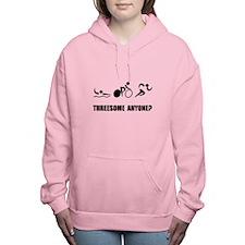Triathlon Threesome Anyo Women's Hooded Sweatshirt