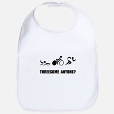Triathlon Threesome Anyone Bib