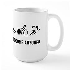 Triathlon Threesome Anyone Mugs