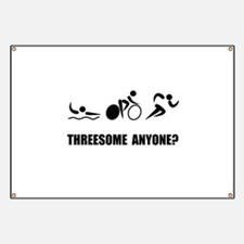 Triathlon Threesome Anyone Banner