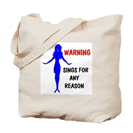 WILL SING Tote Bag