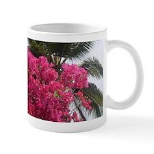 Palm Trees and Pink Flowers - Goa Mugs