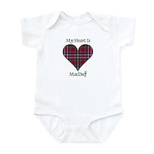 Heart - MacDuff Infant Bodysuit