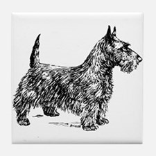 Terrier Tile Coaster