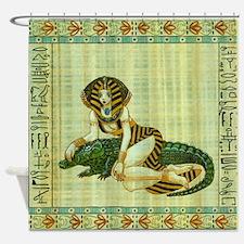 Cleopatra 4 Shower Curtain