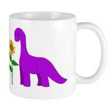 Sauropod and Sunflower Mug