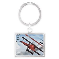 flying circus Landscape Keychain