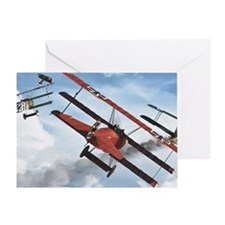 flying circus Greeting Card