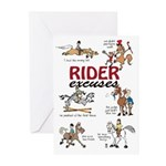 Rider Excuses 1 Cards (Pk of 20)