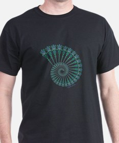 Spiral Tribal Turtle Shell T-Shirt