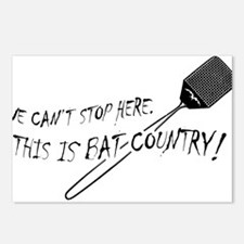 WE CAN'T STOP HERE, THIS IS BAT COUNTRY! Postcards