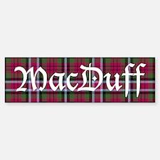 Tartan - MacDuff Bumper Bumper Sticker