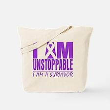 Fibromyalgia I am Unstoppable. Tote Bag