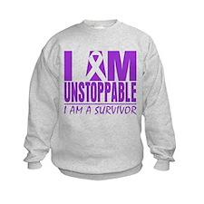 Fibromyalgia I am Unstoppable. Sweatshirt