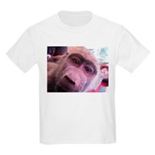 Baby Baboon on T-Shirt