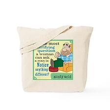 Aunty Acid: Walt Tote Bag