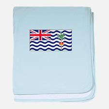 Indian Ocean Territory baby blanket