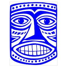 Tiki Mask 02 Poster
