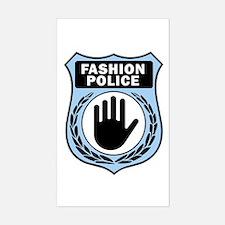 Fashion Police Uniform Rectangle Decal