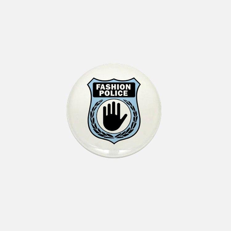 Fashion Police Uniform Mini Button