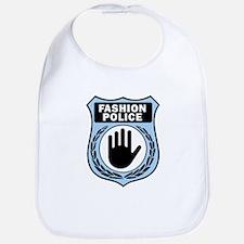 Fashion Police Uniform Bib