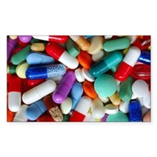 pills drugs Decal