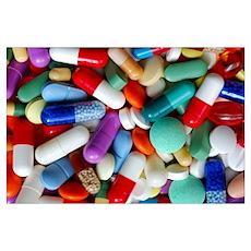 pills drugs Poster