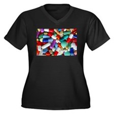 pills drugs Plus Size T-Shirt