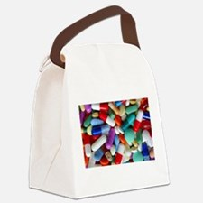 pills drugs Canvas Lunch Bag